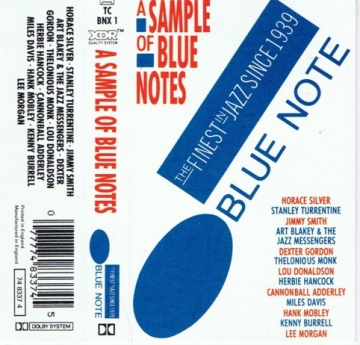 blue note tape outside