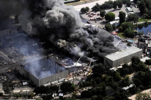 AP Studio Fire